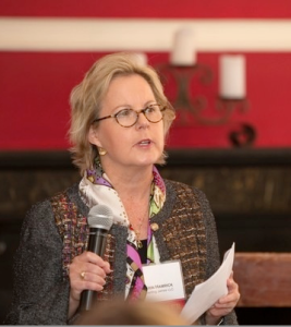 Erin Hamrick speaking at APIW